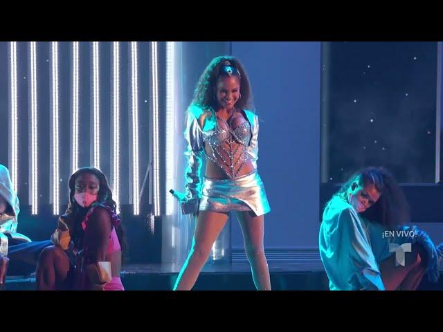Natti Natasha - Noches en Miami (Live Premios Billboard 2021)