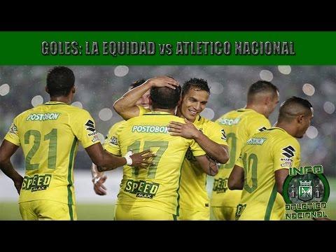 La Equidad 0 vs Atlético Nacional 2