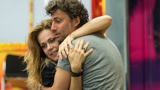 Jonas Kaufmann and Kristīne Opolais rehearse Manon Lescaut (The Royal Opera)