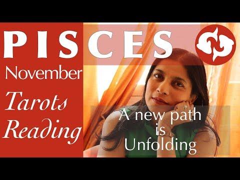 PISCES November Tarot reading forecast