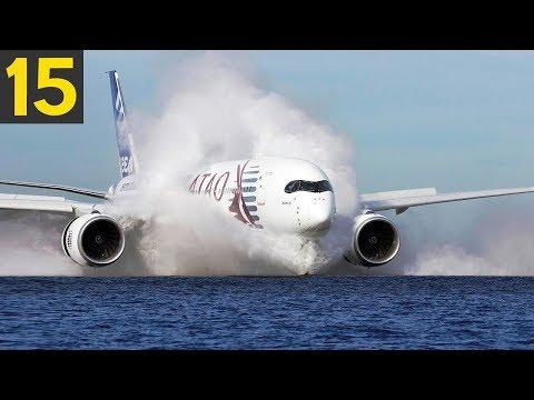 15 DANGEROUS Plane Landings - Great Pilots