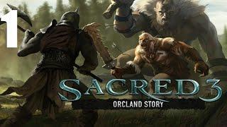 Sacred 3(DLC: Orcland Story) Co-op - Прохождение Часть 1