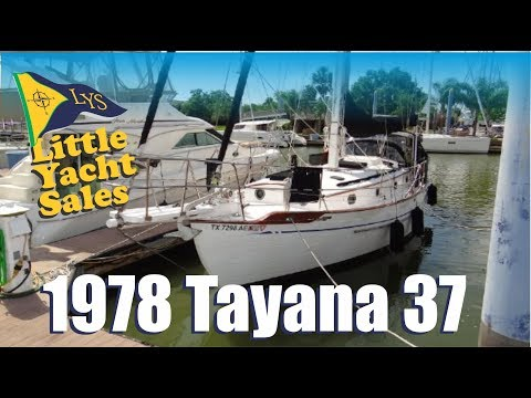 SOLD!!! 1978 Tayana 37 Sailboat for sale at Little Yacht Sales, Kemah Texas