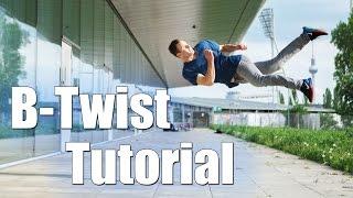 Freerunning Tutorial - Anfänger / Basics - Butterfly / B-twist / Schraube ( Deutsch )