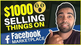 How To Sell & Make Money On the Facebook Marketplace