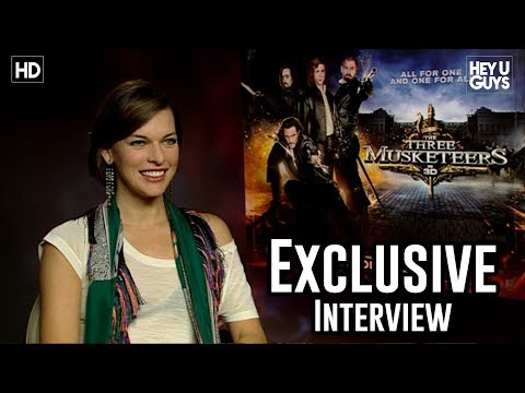 Milla Jovovich - The Three Musketeers Exclusive Interview