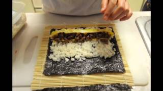 How To Make Kimbap ( Korean Sushi )