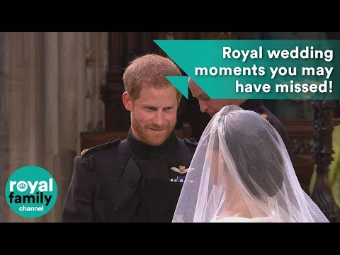 Royal wedding moments you may have missed!