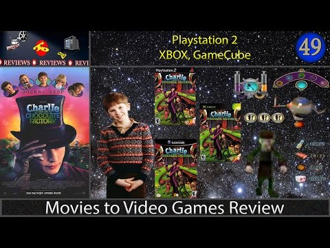 Movies to Video Games Review -- Charlie and the Chocolate Factory (PS2/XBOX/GameCube)