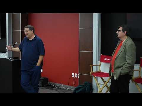 Lee Goldberg and Phoef Sutton speak at Lamar University