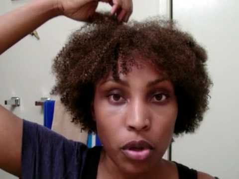 Crochet Hair Afro : Crochet Braids-Afro Kinky Hair - YouTube