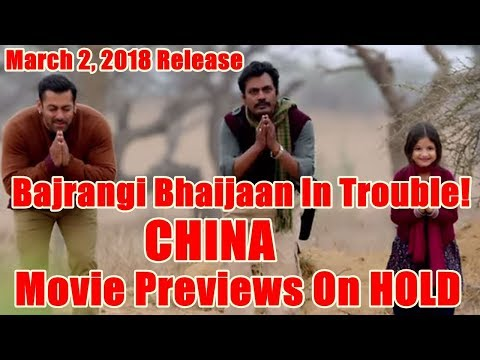 Is Bajrangi Bhaijaan In Trouble In China? Movie Previews On Hold!