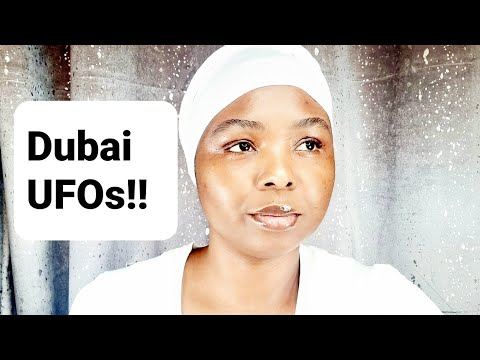 WHAT I SAW CONCERNING DUBAI UFO SIGHTINGS!!**MUST WATCH AND SHARE**