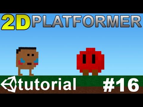 16  Making a 2D Platformer in Unity (C#) - Simple Enemy Pt 1