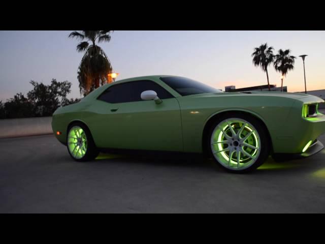 Dodge Challenger R/T - Oracle Colorshift 2.0 - Custom Lighting