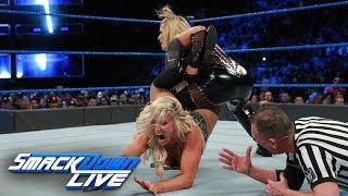 HINDI - Charlotte Flair vs. Natalya - Women's Title Match: SmackDown LIVE, 21 November, 2017