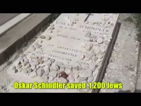 D. K. Smith - October 9, 1974 Oskar Schindler saving 1,200 Jews during the Holocaust dies