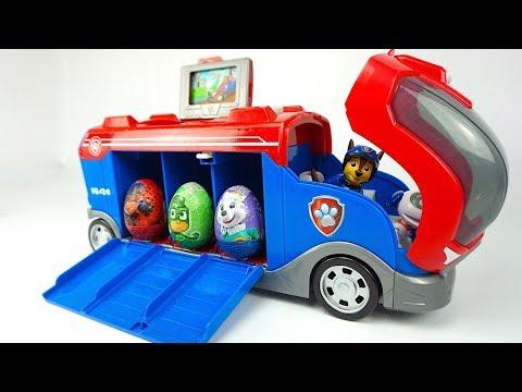 Щенячий патруль сюрпризы и игрушки из мультика