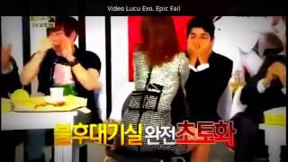 Video Lucu Exo Konser, Epic Fail