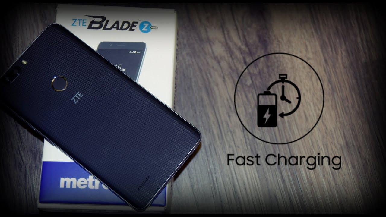 ZTE Blade Zmax | Fast Charging