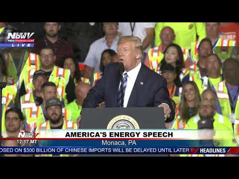 FULL SPEECH: President Trump speech on energy in Pennsylvania