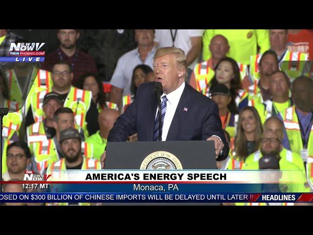 FULL SPEECH: President Trump speech on energy in Pennsylvania