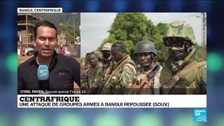 Attaque à Bangui en Centrafrique :