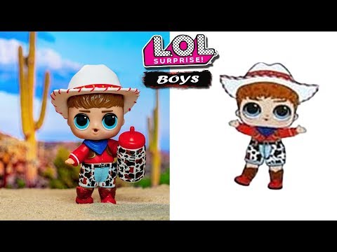LOL Surprise BOYS SERIES | ЛОЛ ВЖИВУЮ И КАРТИНКИ  | Первые ФОТО