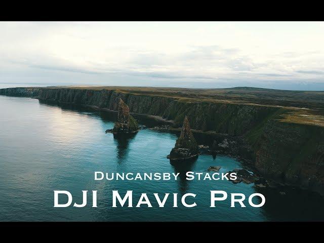 NC500 - SCOTLAND road trip - Duncansby Stacks - DJI mavic pro drone