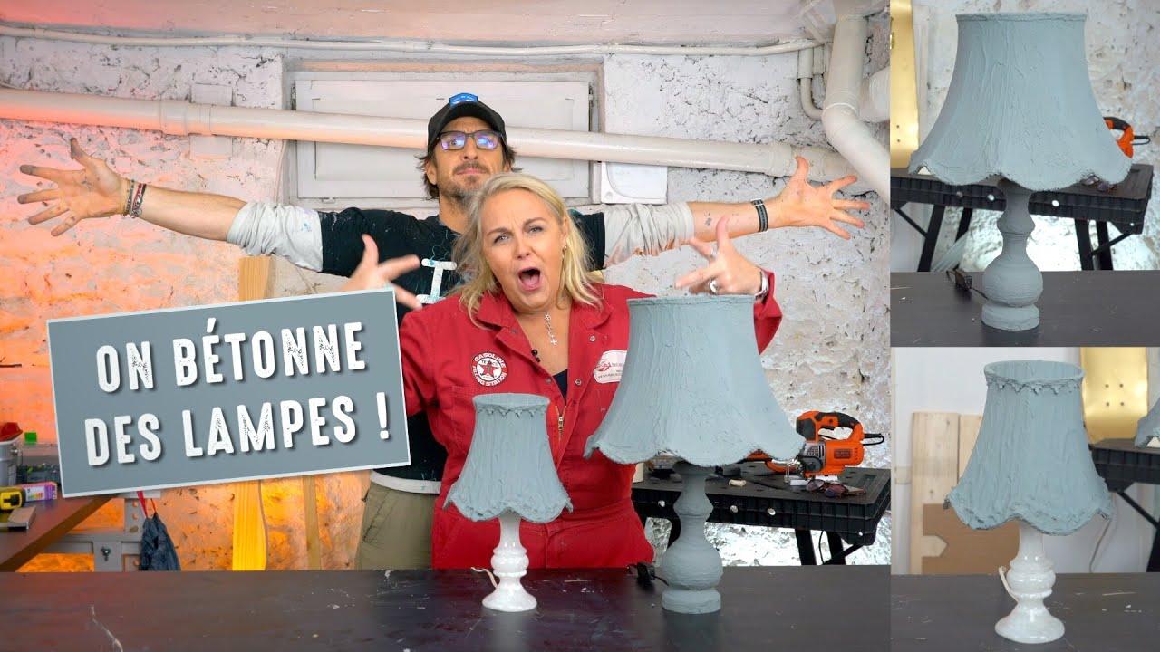Valérie Damidot Déco - On Bétonne des Lampes !