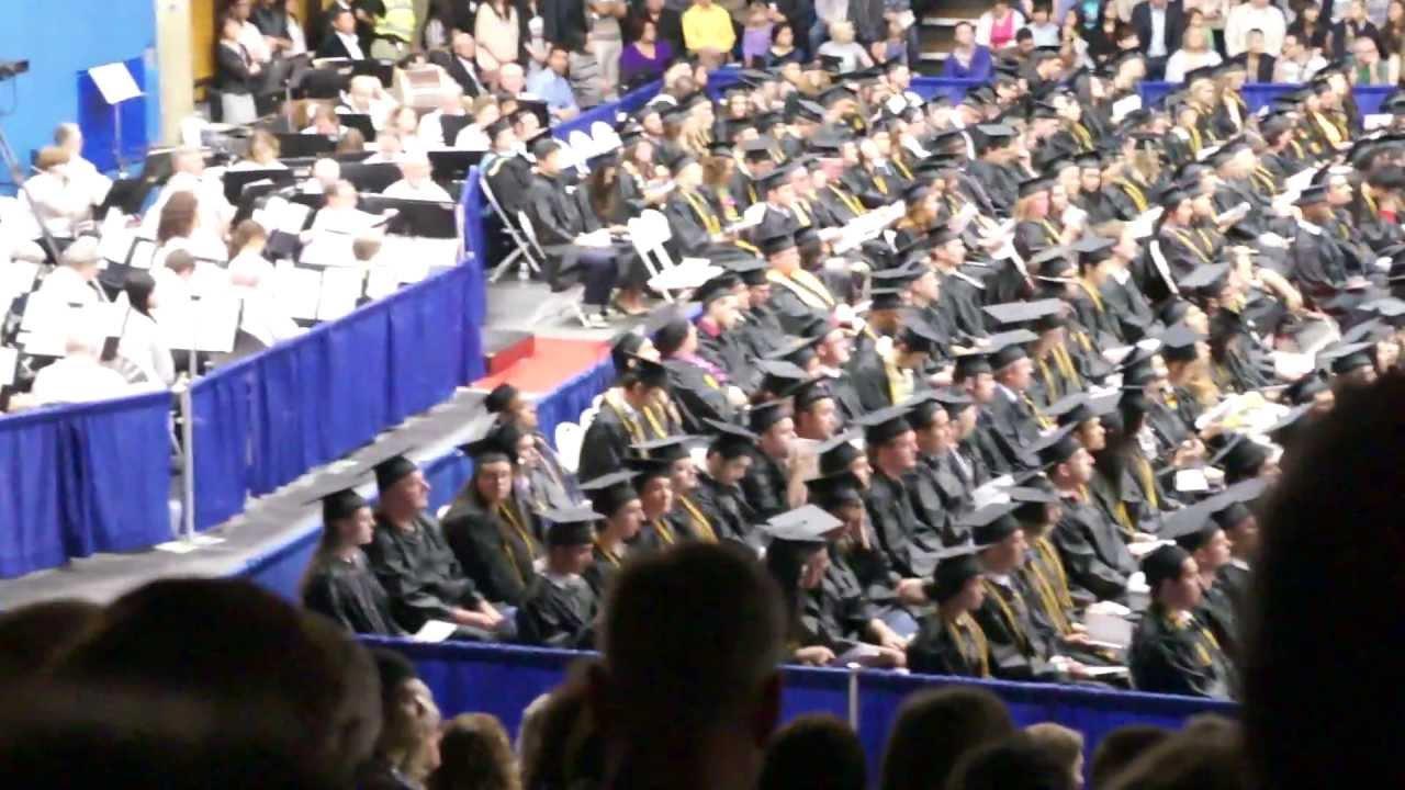 bellevue college graduation spring 2012