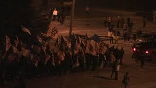 марш восток Украины Рубежное 6 декабря