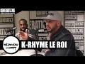 Capture de la vidéo K-Rhyme Le Roi - Interview (Live Des Studios De Generations)