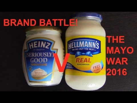 Heinz & Hellmanns Mayonnaise REAL REVIEW