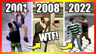 Evolution of PUNCH LOGIC in GTA Games (2001-2021)