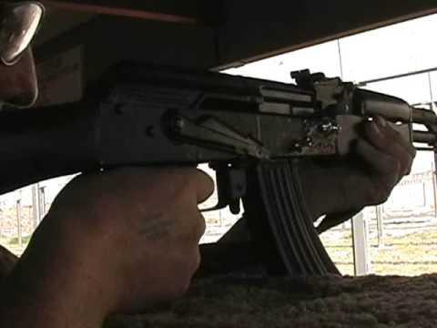 Testing 3 Modular AK-47 Prototypes