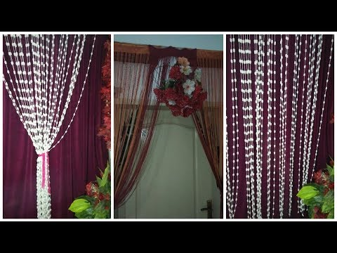 How To Make Curtain Designing Tutorial / Easy Making Stiching