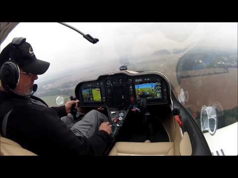 First flight of the new TL 2000 Sting S4.