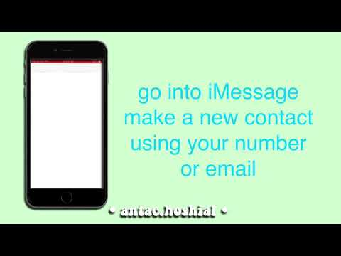 How to make a fake IMessage Notification for CCP - YouTube