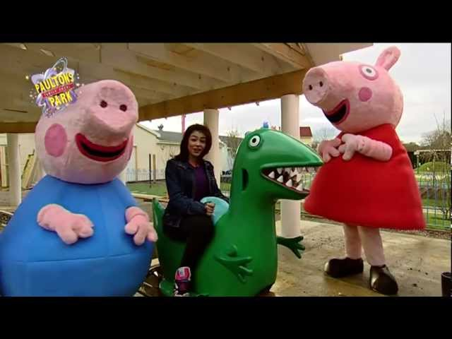 Peppa Pig World Preview Paultons Theme Park Travel Video