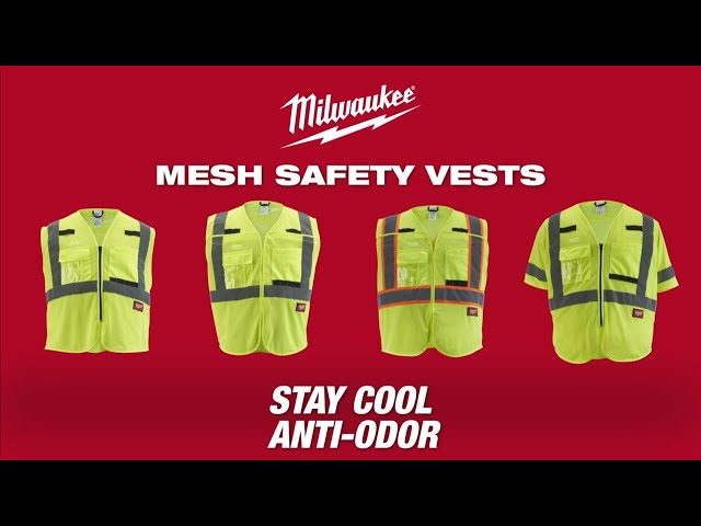 Milwaukee® Mesh Safety Vests