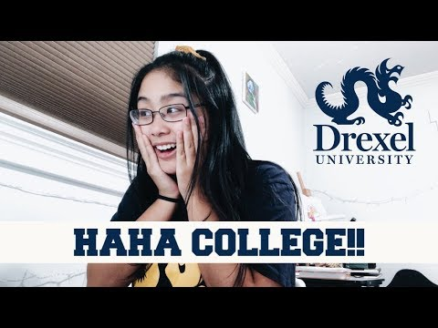 REACTING TO MY COLLEGE DECISION (DREXEL UNIVERSITY) // Ashle
