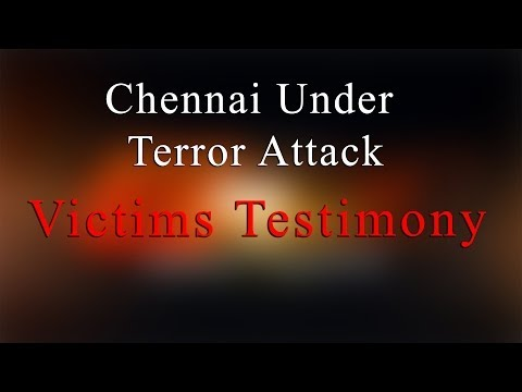 The Victims Testimony  - Bomb Blast at Chennai Central Railway Station - Redpix24x7