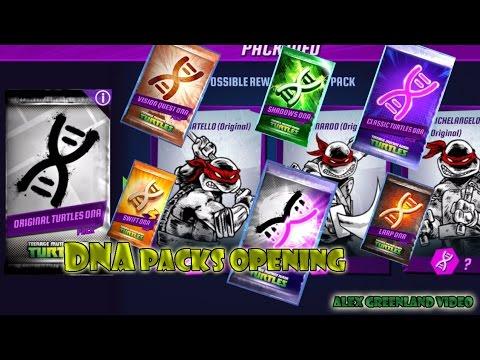 TMNT Legends - DNA Packs Opening