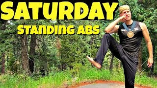 Saturday - Standing Abs Pilates Workout Routine - 7 Day Pilates Challenge #7daypilateschallenge