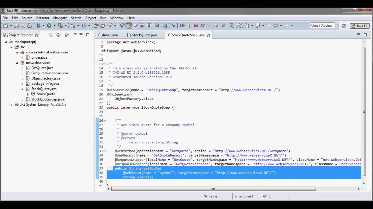 Java api for xml web services jax ws tutorial 01 youtube java api for xml web services jax ws tutorial 01 baditri Choice Image
