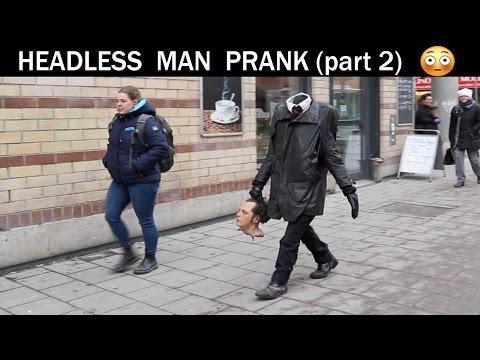 Headless man Prank part 2 (slaughter version)- Julien magic
