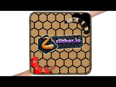 How to make Slither.io cardboard game