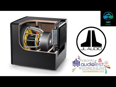 live-view-of-what's-inside-a-13.5-inch-jl-audio-subwoofer-@toronto-audio-fest-2019