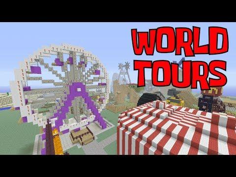 LIVE! Minecraft Xbox 360 World Tours